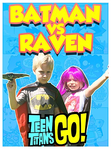 TEEN TITANS GO! Raven VS Batman in Real Life Glider Race + Dinosaur Surprise + Titan & Batman Kids