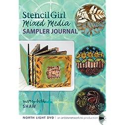 Stencil Girl - Stencil Sampler Artist's Book