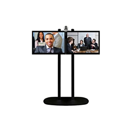 """Supporto video conferenza """"Heavy Duty"""" colore (struttura): nero, colore (pilastro): Nero"""