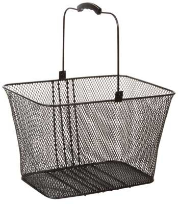 Sunlite Lift-Off Bicycle Basket, Black