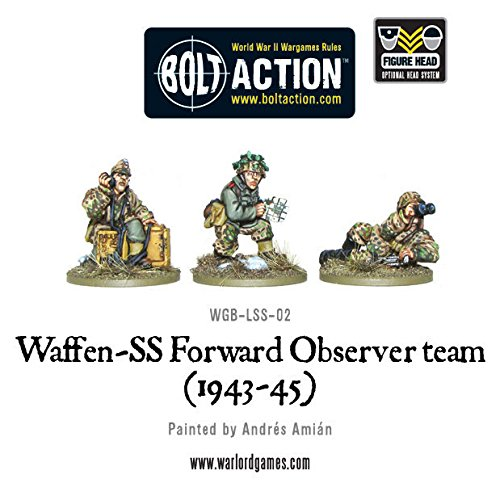 Bolt Action - Waffen - SS Forward Observer Team 1943-45 - Warlord Games