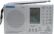 Kaito KA1102 AM/FM Shortewave Radio with SSB, Color Silver