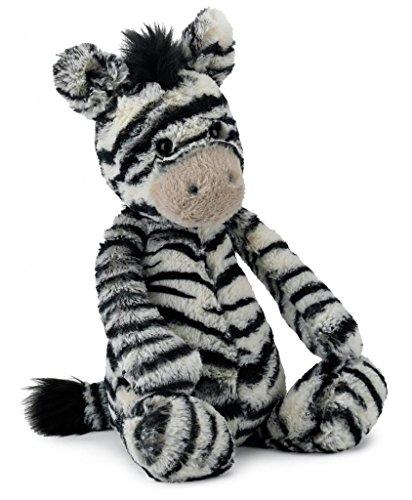 "Jellycat® Bashful Zebra, Medium - 12"" front-743911"
