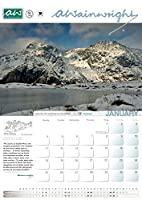 The Wainwright Society Calendar of the Lake District 2016 - large format, size A3 (297mm x 420 mm) with one page per month