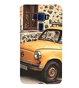 vintage automobile pic 3D Hard Polycarbonate Designer Back Case Cover for Asus Zenfone 3 Deluxe ZS570KL::Asus Zenfone 3 Deluxe (5.7 INCHES)