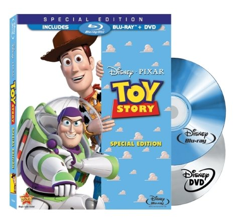 Cover art for  Toy Story (Two-Disc Special Edition Blu-ray/DVD Combo in Blu-ray Packaging)
