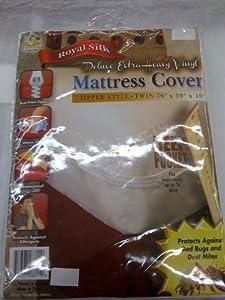 Royal Silk Queen Size 16 Inch Deep Pocket Mattress Cover