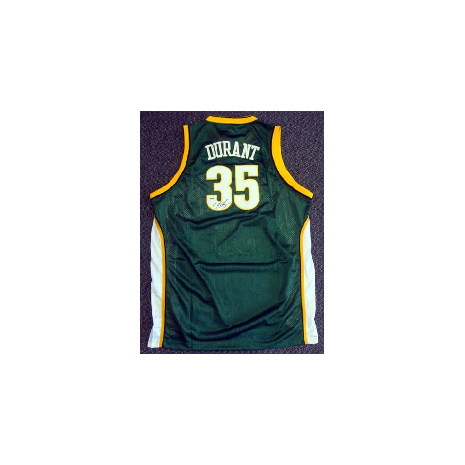 a0762e415cec Kevin Durant Sonics Authentic NBA Rookie Jersey Home on PopScreen