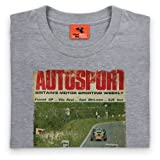 1969 Autosport Cover T Shirt, Ladies