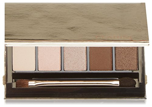 Clarins Ombretto, Palette Yeux 5 Couleurs, 7.5 gr, 01-Pretty Day