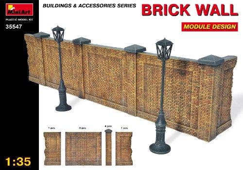 MiniArt Plastic Models 1/35 Brick Wall, Module Design