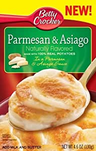 Betty Crocker Specialty Potato Parmesan Asiago, 4.6 Ounce (Pack of 12)