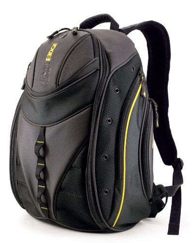 Mobile Edge Express Backpack- 16-Inch Pc/17-Inch Mac (Black/Yellow)