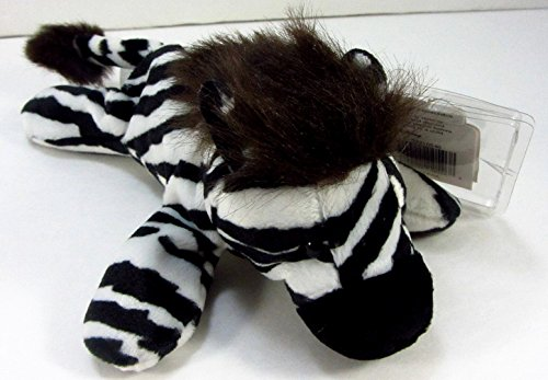 "Disney's Animal Kingdom 9"" Zebra Bean Bag Plush"