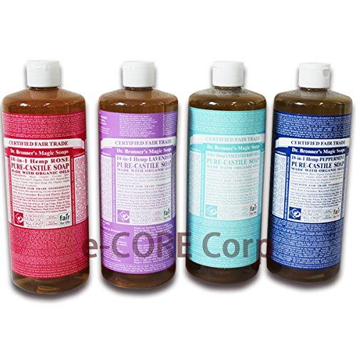 Dr.ブロナー マジックソープ ラベンダー 946ml Magic Soap 洗顔、ボディ、クレンジングもこの1本で