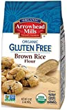 Arrowhead Mills Organic Gluten Free Brown Rice Flour, 2 Pound (Pack of 6)