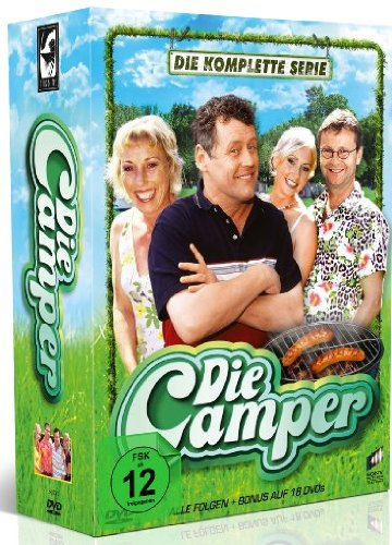Die Camper - Die komplette Serie (18 Discs)