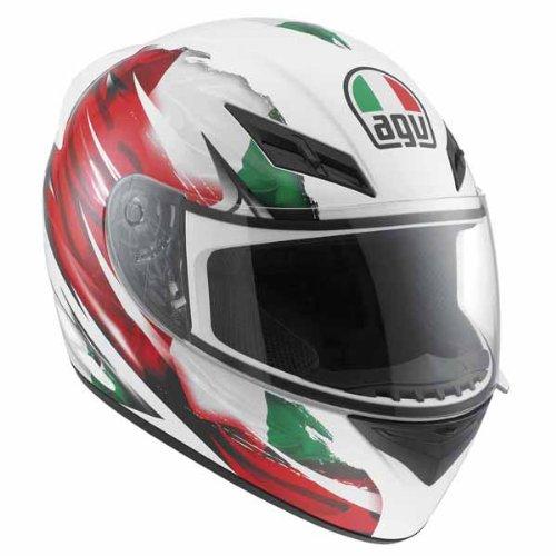 AGV エージーブイ K3 Flag Italy Helmet ヘルメット 2013モデル ホワイト M(57~58cm)