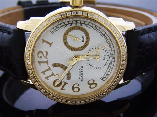 AQUA MASTER AM-50YG - Reloj de pulsera mujer