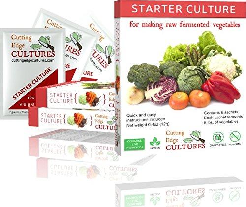 Cutting edge cultures vegetable starter culture 6 pouches for A shear pleasure pet salon