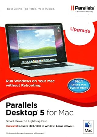 Parallels Desktop 5.0 English Upgrade (from 3.x) (Mac)