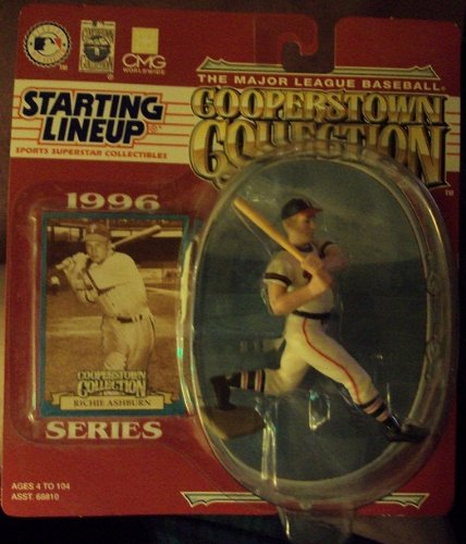 RICHIE ASHBURN 1996 Cooperstown Collection MLB Starting Line Up SLU figure. Philadelphia Phillies. New in package. - 1