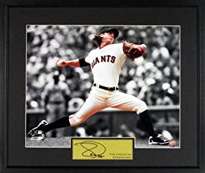 Tim Lincecum Spotlight 11x14 Photographed San Francisco Giants Signature Series...