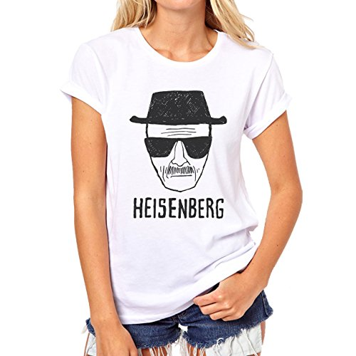 Heisenberg-Breaking-Bad-Popular-Known-Animation-Icon-Drawing-Popular-Mujer-T-Shirt