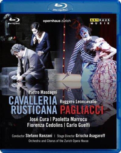 Pietro Mascagni - Cavalleria Rusticana / Ruggero Leoncavallo - Pagliacci- Blu Ray
