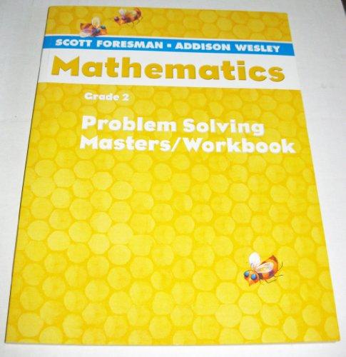 SCOTT FORESMAN MATH 2004 PROBLEM SOLVING MASTERS/WORKBOOK GRADE 2