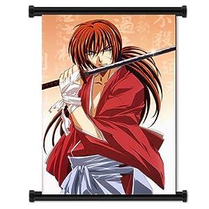 "Rurouni Kenshin Anime Fabric Wall Scroll Poster (16""x24"") Inches"