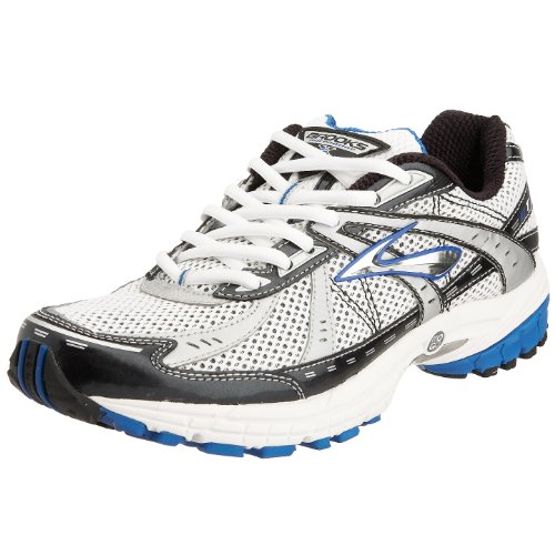 Brooks Men's Brooks GTS 10 Running Shoe Grey/Silver/Royal/Black 7 UK