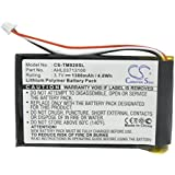 1300mAh Li-PL GPS Battery For TomTom Go 920, Go 920T, Go XL330, Go XL330S, One XL 340, 340S LIVE XL