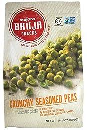 Majans Bhuja Snacks Crunchy Seasoned Peas, 28.22 oz Bag