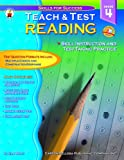 img - for Teach & Test Reading Grade 4 book / textbook / text book