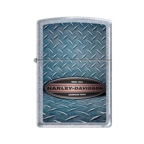 Zippo Harley Davidson Motorcycles Logo Street Chrome Lighter