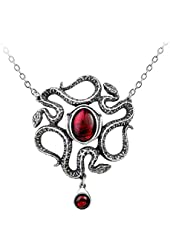 Serpents Eye Pendant Necklace by Alchemy Gothic