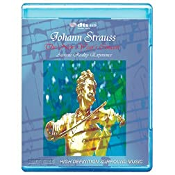 Johann Strauss: The New Years Concert in Vienna - Acoustic Reality Experience 7.1 HD Master Audio Audio Only [Blu-ray]
