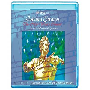 Johann Strauss: The New Years Concert in Vienna - Acoustic Reality Experience [7.1 DTS-HD Master Audio Disc] [BD25 Audio Only] [Blu-ray]