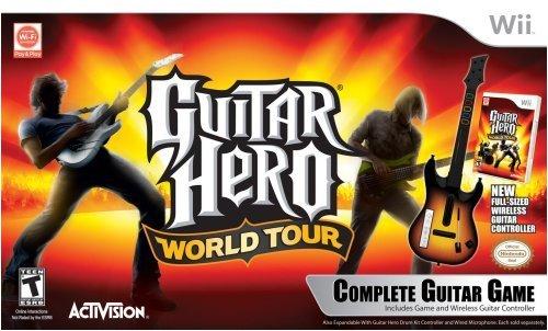 Imagen de Wii Guitar Hero World Tour Guitar Kit