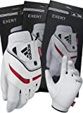adidas Men's Exert Glove, White/Black/Red (Small, Right Hand)