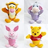 Disney 4 Winnie the Pooh and Friends Hand Puppets