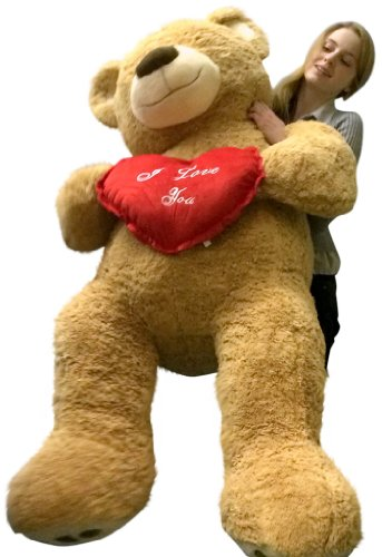 ... I Love You Giant Teddy Bear For Valentines