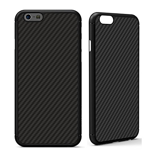 iPhone 6 / 6s Case, Nillkin [Black] Ultra Slim Light Carbon Fiber Armor Case Cover for iPhone 6 and iPhone 6s, Compatible with Magnetic Car Mounts (Carbon Iphone 6 Case compare prices)