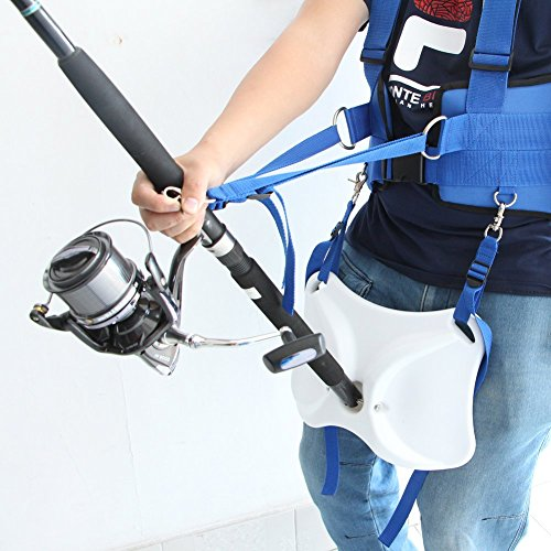 Pellor Offshore Stand Up Fishing Fighting Belt Shoulder Back Harness Complete Package (Fishing Shoulder Harness compare prices)