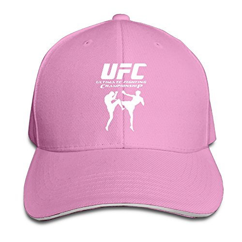 k-fly2-unisex-adjustable-ultimate-fighting-championship-ufc-baseball-caps-hat-one-size-pink