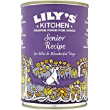 Lily's Kitchen Senior Recipe Wet Food for Dogs, 400 g, Pack of 6