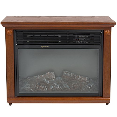 Best choice products large room infrared quartz electric Best space heater for large room