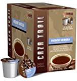 Caza Trail Coffee, French Vanilla, 24 Single Serve Cups