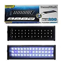 Aquarium LED Lamp Light Beamswork Hood Fish Tank Led-200 12-18 Inch